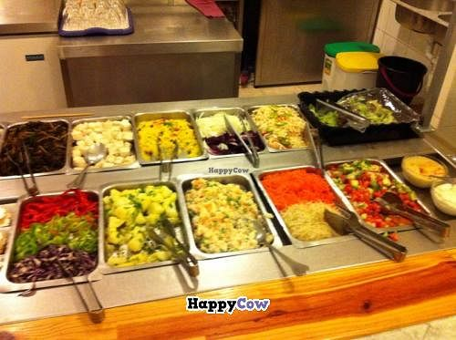 """Photo of Loving Hut - Valencia  by <a href=""""/members/profile/Cherry7"""">Cherry7</a> <br/>Salads <br/> December 14, 2013  - <a href='/contact/abuse/image/1167/60303'>Report</a>"""