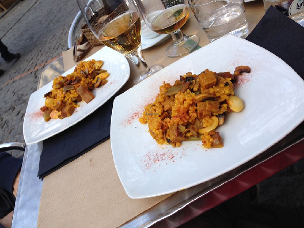 """Photo of La Tastaolletes  by <a href=""""/members/profile/Jolaaa"""">Jolaaa</a> <br/>vegan paella :)  <br/> March 16, 2016  - <a href='/contact/abuse/image/11681/140196'>Report</a>"""