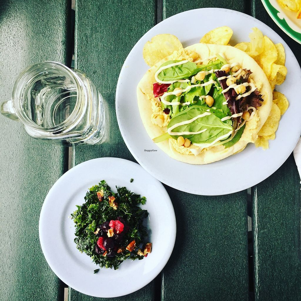 "Photo of Beak  by <a href=""/members/profile/AnastaciaJanowska"">AnastaciaJanowska</a> <br/>small kale salad and hummus wrap <br/> April 11, 2018  - <a href='/contact/abuse/image/116820/383712'>Report</a>"