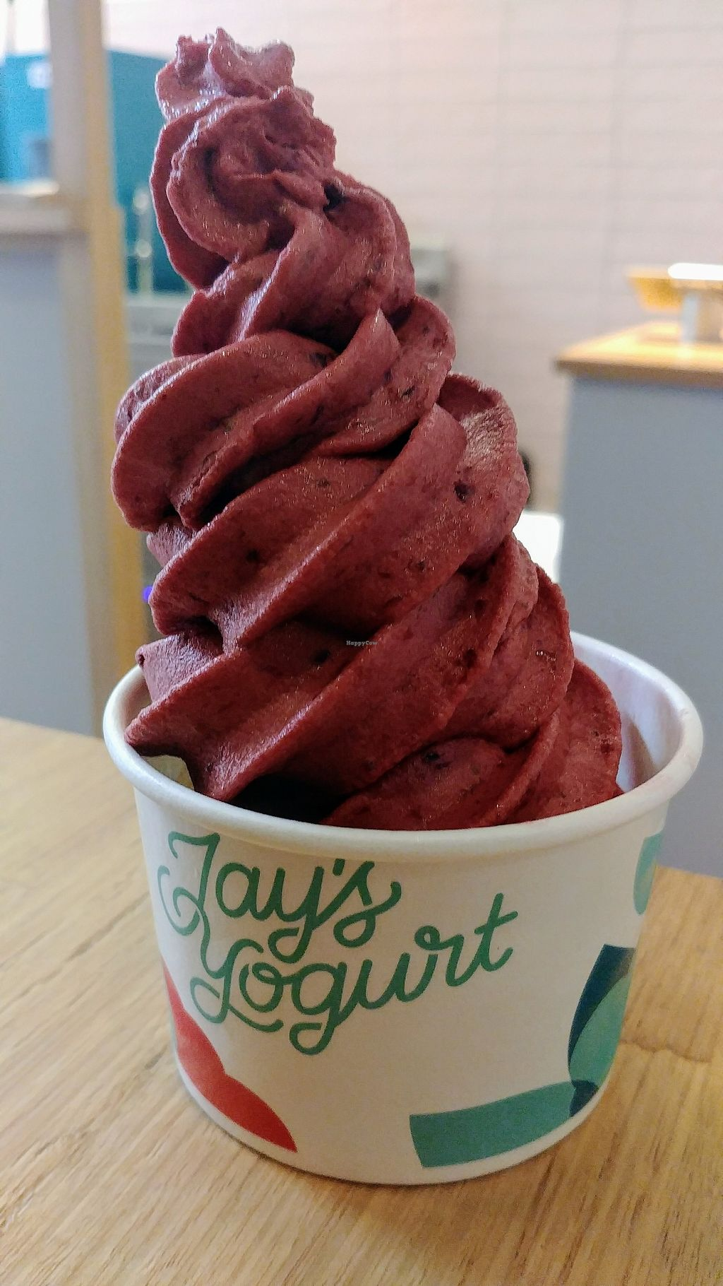 """Photo of Jay's Yogurt  by <a href=""""/members/profile/karlaess"""">karlaess</a> <br/>Nicecream blend <br/> April 10, 2018  - <a href='/contact/abuse/image/116878/383195'>Report</a>"""