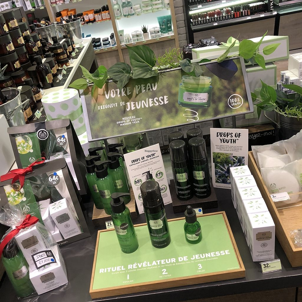 "Photo of The Body Shop  by <a href=""/members/profile/TARAMCDONALD"">TARAMCDONALD</a> <br/>Another new line of vegan skincare!!  <br/> April 12, 2018  - <a href='/contact/abuse/image/116892/384437'>Report</a>"
