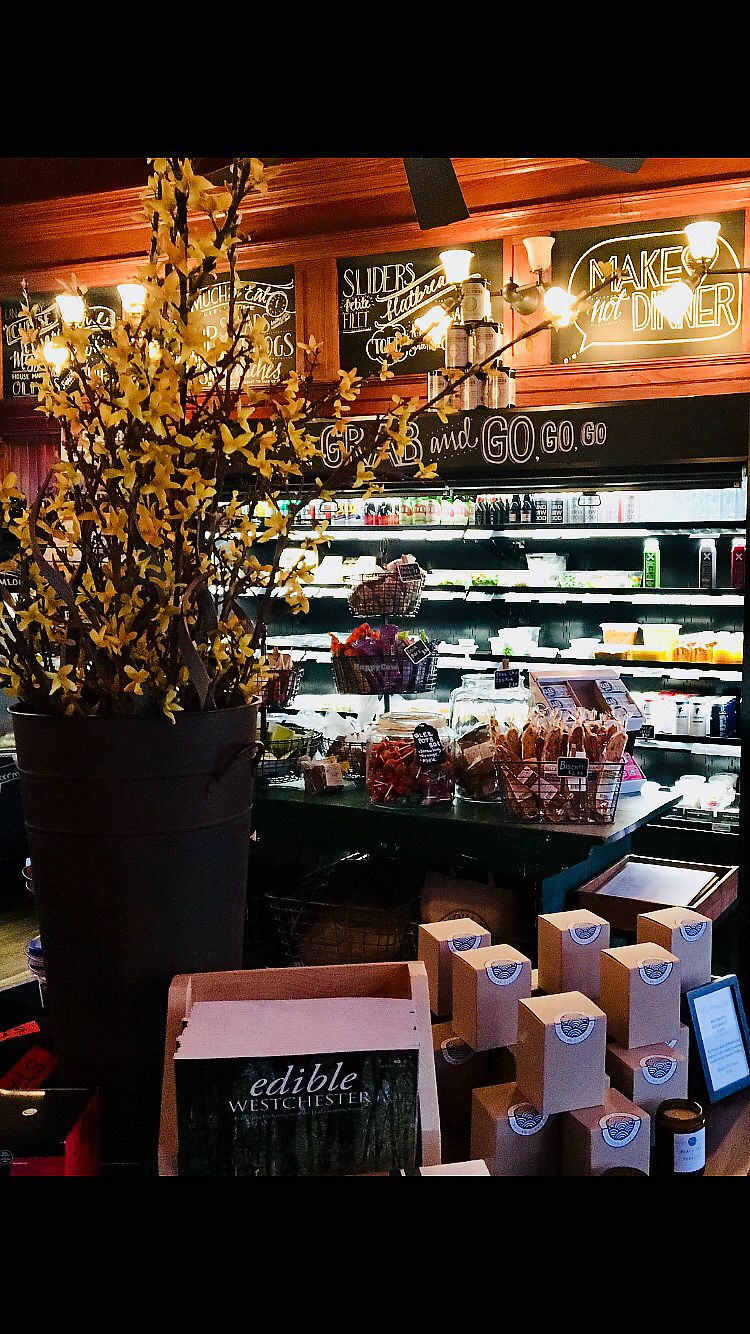 "Photo of Chappaqua Station  by <a href=""/members/profile/LilMsVegan"">LilMsVegan</a> <br/>Table with eco friendly gifts  <br/> April 13, 2018  - <a href='/contact/abuse/image/116897/384806'>Report</a>"
