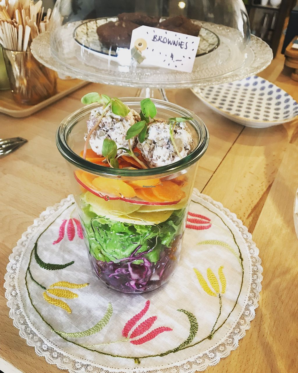 """Photo of L'Assise  by <a href=""""/members/profile/SarahKrebs"""">SarahKrebs</a> <br/>Seasonal salad  <br/> April 7, 2018  - <a href='/contact/abuse/image/116918/381822'>Report</a>"""