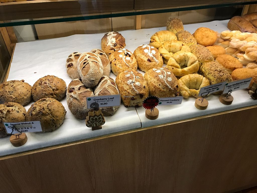"""Photo of Oishi Pan Bakery  by <a href=""""/members/profile/Sweetveganneko"""">Sweetveganneko</a> <br/>Rustic loaves in interesting flavours <br/> April 6, 2018  - <a href='/contact/abuse/image/116954/381744'>Report</a>"""