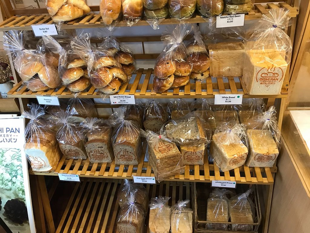 """Photo of Oishi Pan Bakery  by <a href=""""/members/profile/Sweetveganneko"""">Sweetveganneko</a> <br/>Sandwich loaves  <br/> April 6, 2018  - <a href='/contact/abuse/image/116954/381745'>Report</a>"""