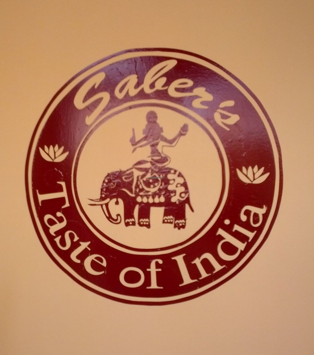 """Photo of Saber's Taste of India  by <a href=""""/members/profile/jameswsay"""">jameswsay</a> <br/>saber logo <br/> April 11, 2018  - <a href='/contact/abuse/image/116968/383805'>Report</a>"""