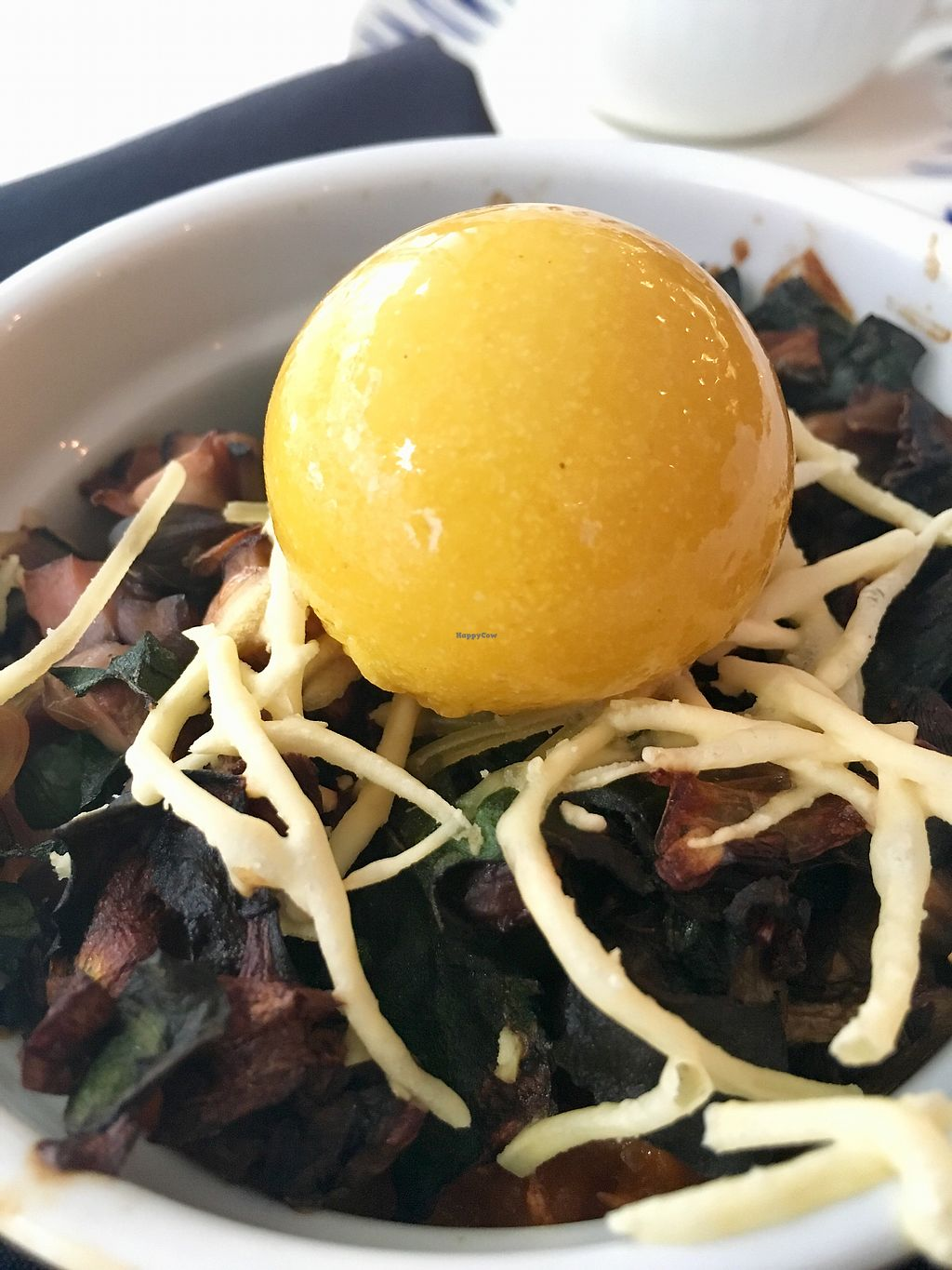 """Photo of Unscripted  by <a href=""""/members/profile/turtleveg"""">turtleveg</a> <br/>vegan coquette with vegg yolk - crazy!  <br/> April 8, 2018  - <a href='/contact/abuse/image/116974/382172'>Report</a>"""