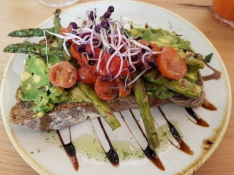 """Photo of That's Toast  by <a href=""""/members/profile/TrudiBruges"""">TrudiBruges</a> <br/>with avocado and asparagus <br/> April 13, 2018  - <a href='/contact/abuse/image/116988/384945'>Report</a>"""