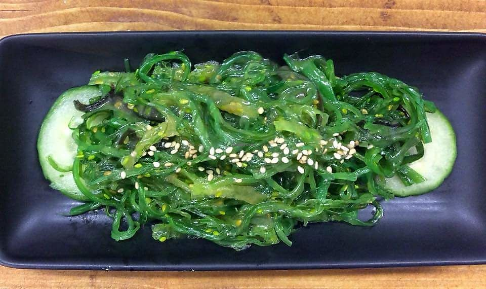 """Photo of Mr Tanaka's  by <a href=""""/members/profile/JessUK"""">JessUK</a> <br/>Seaweed salad (small plate special) <br/> April 17, 2018  - <a href='/contact/abuse/image/117001/387379'>Report</a>"""