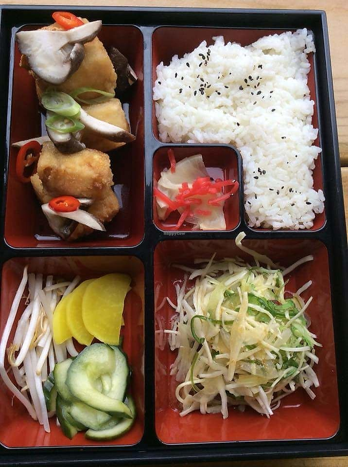 """Photo of Mr Tanaka's  by <a href=""""/members/profile/JessUK"""">JessUK</a> <br/>Tofu bento box <br/> April 17, 2018  - <a href='/contact/abuse/image/117001/387381'>Report</a>"""