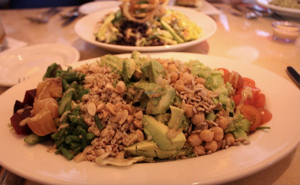 """Photo of The Cheesecake Factory  by <a href=""""/members/profile/josierose"""">josierose</a> <br/>Vegan Cobb salad <br/> April 13, 2018  - <a href='/contact/abuse/image/117044/385215'>Report</a>"""