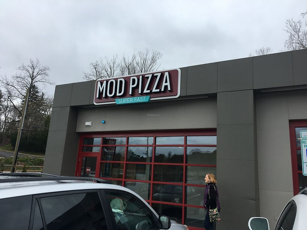 "Photo of Mod Pizza  by <a href=""/members/profile/Michael%20Isavegan"">Michael Isavegan</a> <br/>Sign outside <br/> April 8, 2018  - <a href='/contact/abuse/image/117061/382206'>Report</a>"