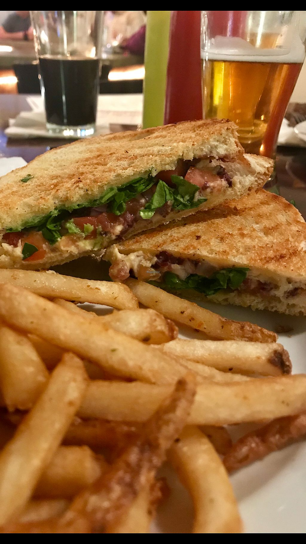 """Photo of Northern Oak Brewery  by <a href=""""/members/profile/Yojacq"""">Yojacq</a> <br/>Vegan Panini ? <br/> April 21, 2018  - <a href='/contact/abuse/image/117063/389187'>Report</a>"""