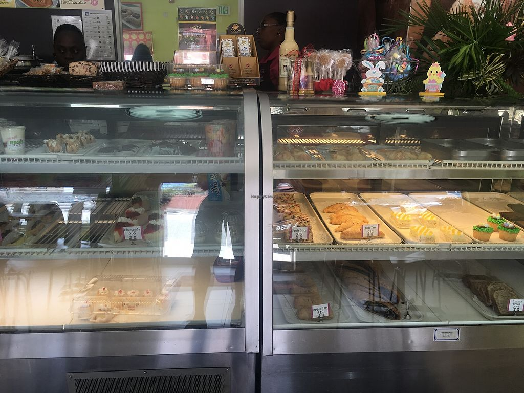 "Photo of Upper Crust Patisserie  by <a href=""/members/profile/vegan_ryan"">vegan_ryan</a> <br/>Bakery case <br/> April 13, 2018  - <a href='/contact/abuse/image/117203/385064'>Report</a>"