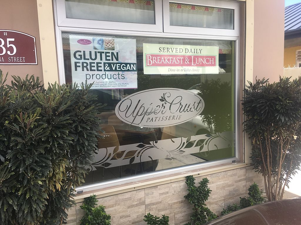 "Photo of Upper Crust Patisserie  by <a href=""/members/profile/vegan_ryan"">vegan_ryan</a> <br/>Exterior <br/> April 13, 2018  - <a href='/contact/abuse/image/117203/385066'>Report</a>"