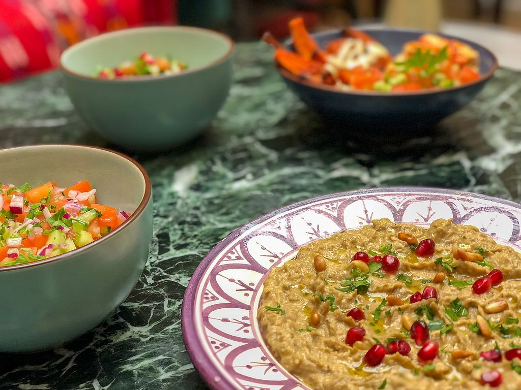 "Photo of Levantine  by <a href=""/members/profile/jeremiebank"">jeremiebank</a> <br/>Babaganoush (eggplant caviar) ! <br/> April 9, 2018  - <a href='/contact/abuse/image/117207/382828'>Report</a>"