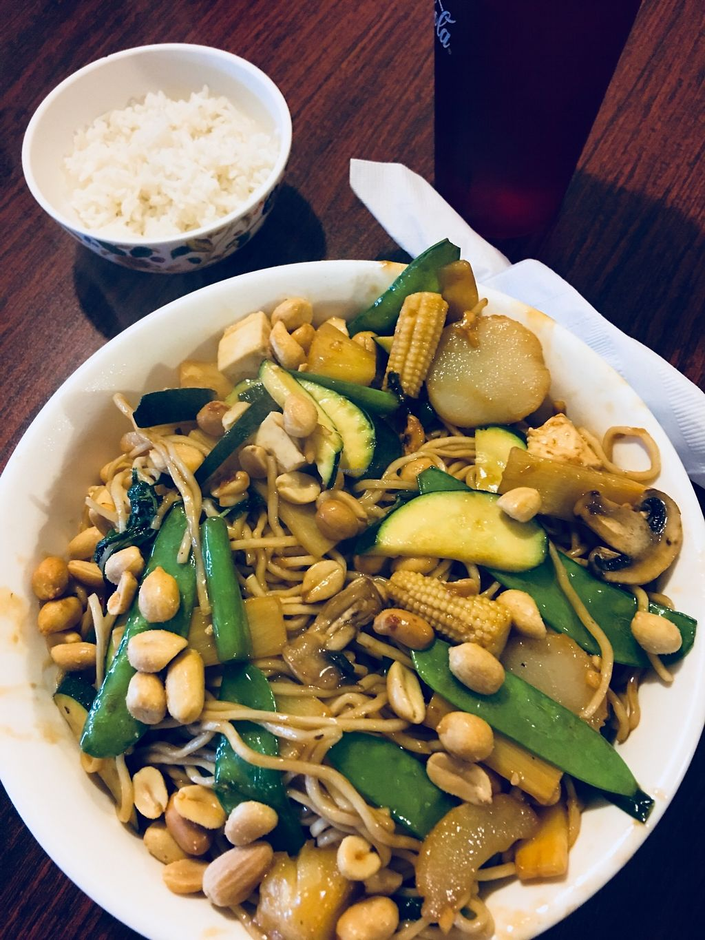 """Photo of Express Lucky Star Mongolian  by <a href=""""/members/profile/ChereseTarter"""">ChereseTarter</a> <br/>Vegan Mongolian BBQ <br/> April 12, 2018  - <a href='/contact/abuse/image/117214/384250'>Report</a>"""