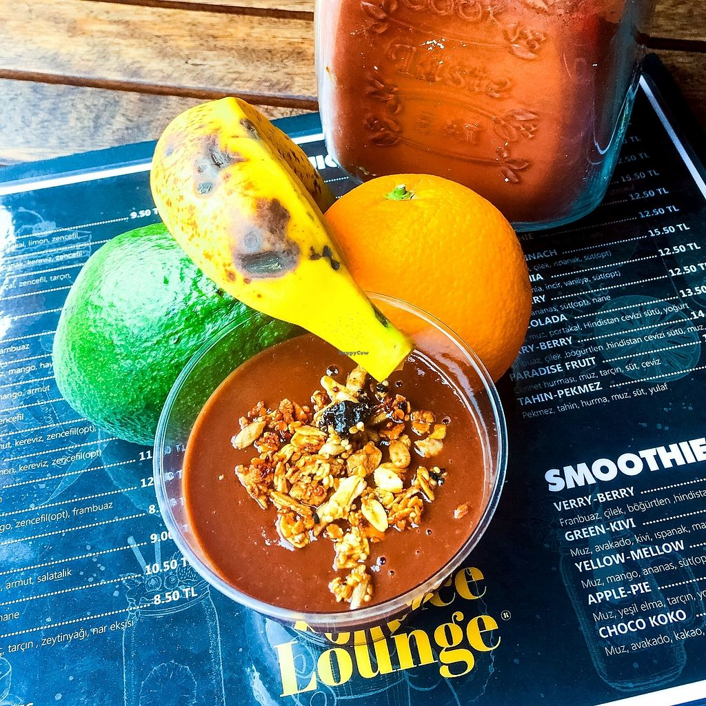 """Photo of The Juice Lounge  by <a href=""""/members/profile/Thejuicelounge"""">Thejuicelounge</a> <br/>Orange chocolate pudding ❤️? <br/> April 14, 2018  - <a href='/contact/abuse/image/117252/385670'>Report</a>"""