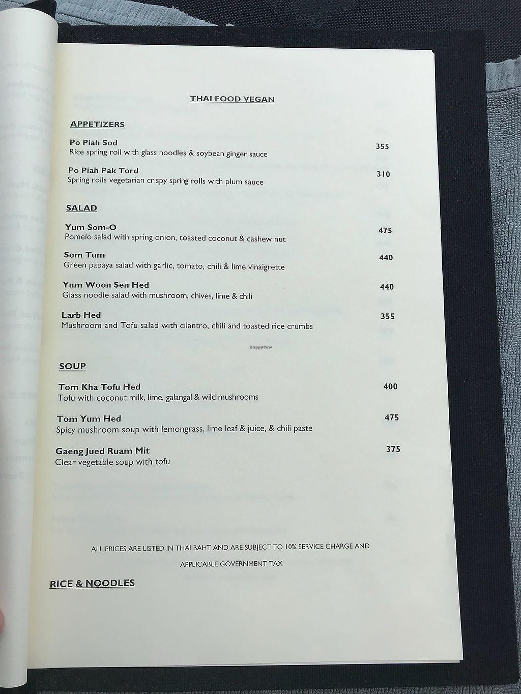 "Photo of Paresa Resort  by <a href=""/members/profile/Perth%20Geoff"">Perth Geoff</a> <br/>Vegan menu pg3 <br/> April 12, 2018  - <a href='/contact/abuse/image/117319/384209'>Report</a>"