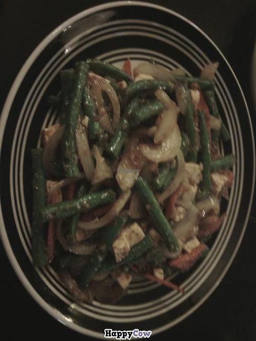 """Photo of CLOSED: Central Vegetarian Cuisine  by <a href=""""/members/profile/mslacey"""">mslacey</a> <br/>Spicy garlic green bean tofu <br/> October 4, 2013  - <a href='/contact/abuse/image/11737/56258'>Report</a>"""