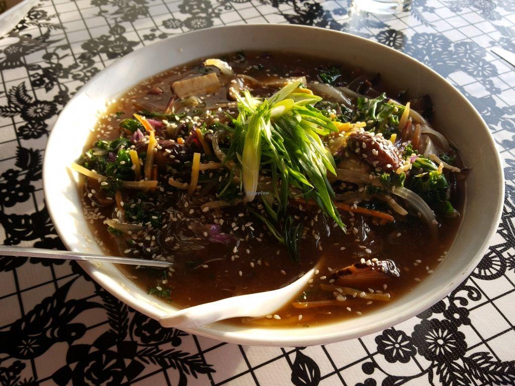 "Photo of Latitude 33  by <a href=""/members/profile/satrn4lulu"">satrn4lulu</a> <br/>Vegan Korean glass noodles <br/> April 11, 2018  - <a href='/contact/abuse/image/117406/384179'>Report</a>"