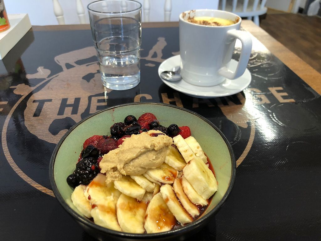 """Photo of Be The Change  by <a href=""""/members/profile/LynnTelford"""">LynnTelford</a> <br/>Posh porridge  <br/> April 15, 2018  - <a href='/contact/abuse/image/117493/386462'>Report</a>"""