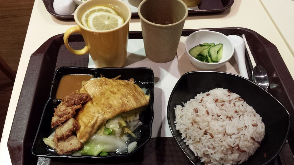 """Photo of Loving Hut - Amoy Plaza  by <a href=""""/members/profile/PuritaMok"""">PuritaMok</a> <br/>One of their yummy meals! <br/> March 23, 2016  - <a href='/contact/abuse/image/11753/141107'>Report</a>"""