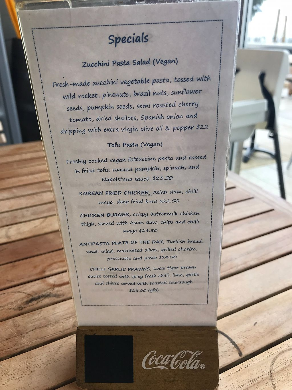 """Photo of Shore Cafe  by <a href=""""/members/profile/Hugtsa"""">Hugtsa</a> <br/>Lots of my veg options <br/> April 14, 2018  - <a href='/contact/abuse/image/117546/385434'>Report</a>"""