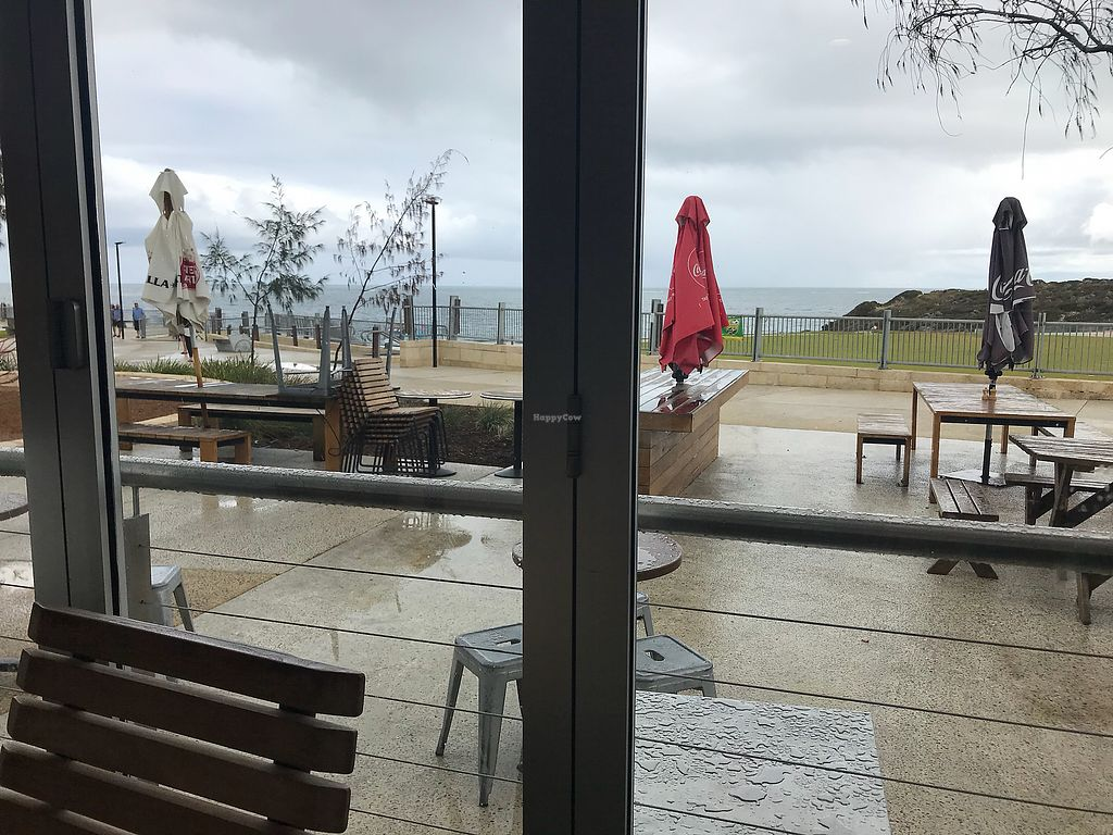 """Photo of Shore Cafe  by <a href=""""/members/profile/Hugtsa"""">Hugtsa</a> <br/>Grey Day but lovely view anyway ? <br/> April 14, 2018  - <a href='/contact/abuse/image/117546/385435'>Report</a>"""