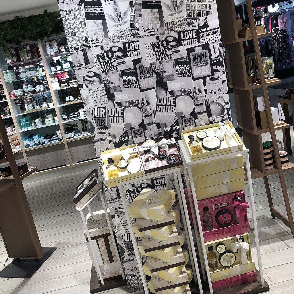 """Photo of The Body Shop - Provence  by <a href=""""/members/profile/TARAMCDONALD"""">TARAMCDONALD</a> <br/>Cruelty free beauty products  <br/> April 12, 2018  - <a href='/contact/abuse/image/117587/384749'>Report</a>"""