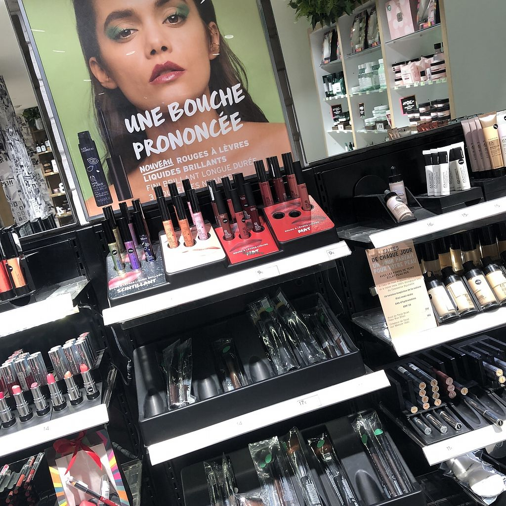 """Photo of The Body Shop - Provence  by <a href=""""/members/profile/TARAMCDONALD"""">TARAMCDONALD</a> <br/>Vegan beauty products & makeup  <br/> April 12, 2018  - <a href='/contact/abuse/image/117587/384752'>Report</a>"""