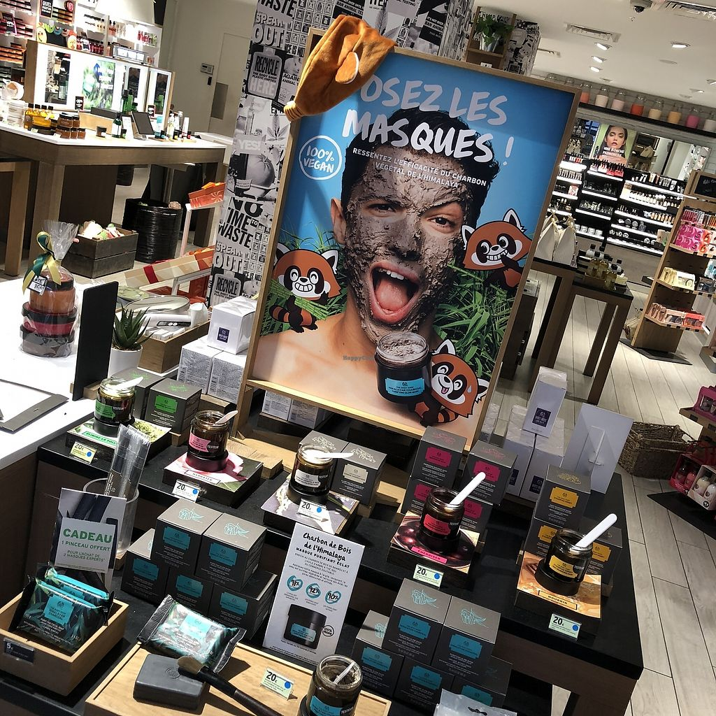 """Photo of The Body Shop - Provence  by <a href=""""/members/profile/TARAMCDONALD"""">TARAMCDONALD</a> <br/>New high end vegan skin care <br/> April 12, 2018  - <a href='/contact/abuse/image/117587/384754'>Report</a>"""