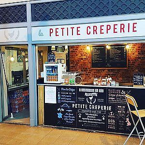 "Photo of La Petite Crêperie  by <a href=""/members/profile/hack_man"">hack_man</a> <br/>Exterior (from Grainger Market social media) <br/> April 16, 2018  - <a href='/contact/abuse/image/117617/386735'>Report</a>"