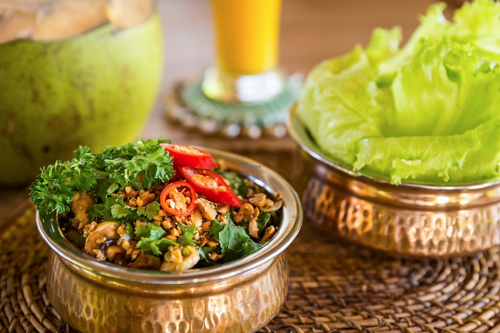 """Photo of Tigerlillys  by <a href=""""/members/profile/sun_sea_and_sand"""">sun_sea_and_sand</a> <br/>San Choy Bau!  Vegan option with Tempe, so yummy!  <br/> April 16, 2018  - <a href='/contact/abuse/image/117642/386639'>Report</a>"""