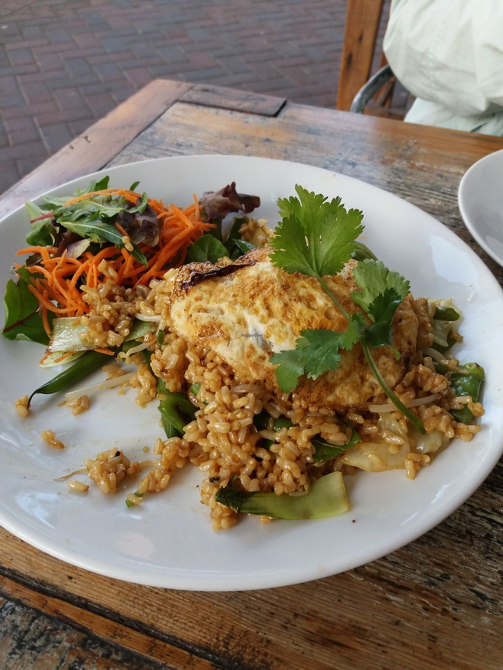 """Photo of Pure Wholefoods  by <a href=""""/members/profile/veganvirtues"""">veganvirtues</a> <br/>Nasi goreng <br/> October 9, 2017  - <a href='/contact/abuse/image/11764/313480'>Report</a>"""