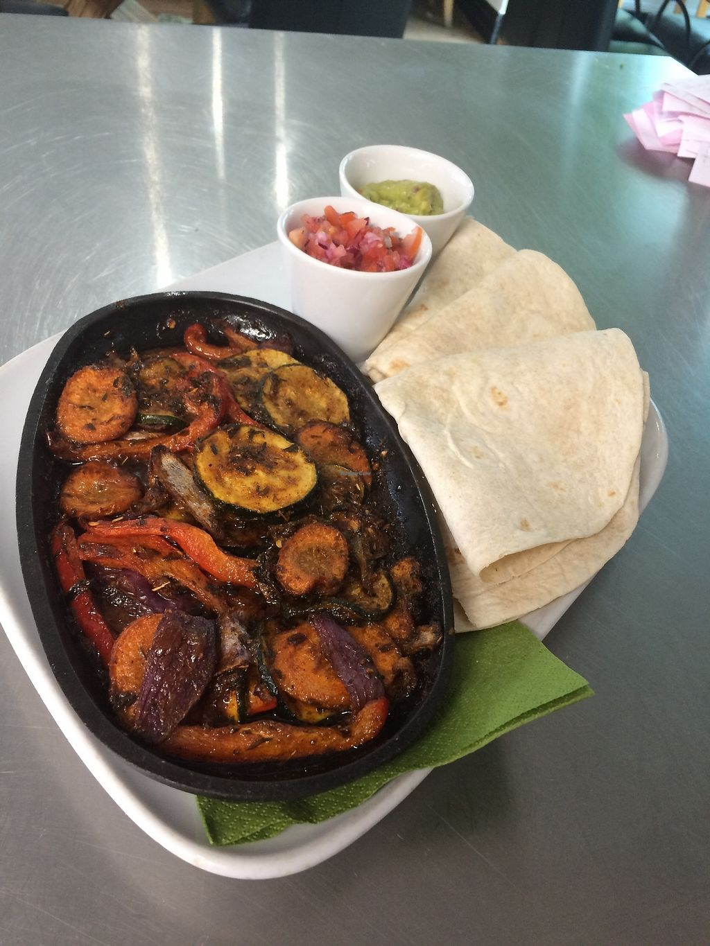 """Photo of The Green Rooms  by <a href=""""/members/profile/Aimeebrooks9"""">Aimeebrooks9</a> <br/>Mixed vegetable fajitas  <br/> April 13, 2018  - <a href='/contact/abuse/image/117658/385352'>Report</a>"""