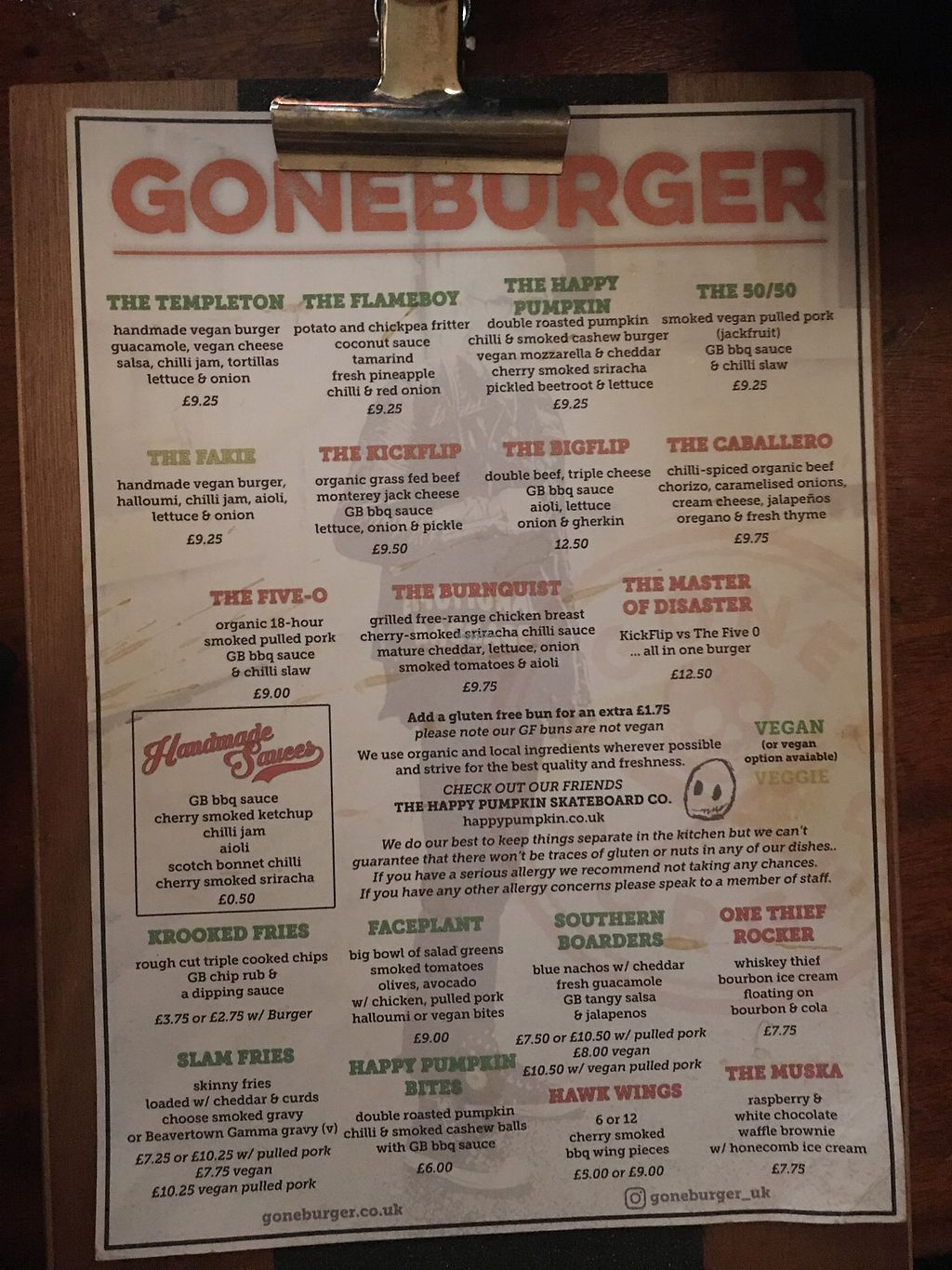 "Photo of GoneBurger - The Salisbury Hotel  by <a href=""/members/profile/chomp"">chomp</a> <br/>Menu! <br/> April 13, 2018  - <a href='/contact/abuse/image/117659/385383'>Report</a>"