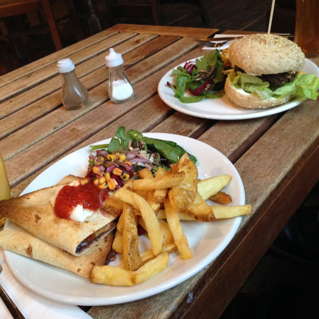 "Photo of The 78  by <a href=""/members/profile/Umeko"">Umeko</a> <br/>quesadilla and mushroom & Rosemary burger.  <br/> November 26, 2015  - <a href='/contact/abuse/image/11778/126231'>Report</a>"