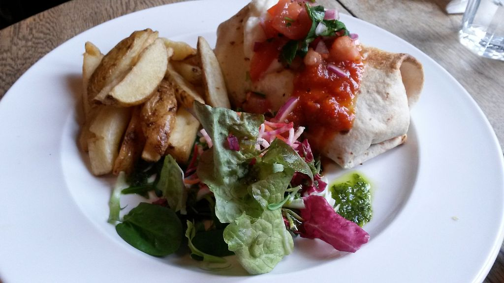 "Photo of The 78  by <a href=""/members/profile/deadpledge"">deadpledge</a> <br/>Refried bean & coconut chilli wrap served with sour cream, jalapeños & salad <br/> February 24, 2017  - <a href='/contact/abuse/image/11778/229911'>Report</a>"