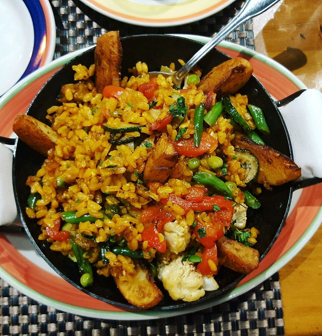 "Photo of Big Sky Cafe  by <a href=""/members/profile/Popcorn%21"">Popcorn!</a> <br/>Vegan Paella! <br/> January 3, 2018  - <a href='/contact/abuse/image/11797/342421'>Report</a>"