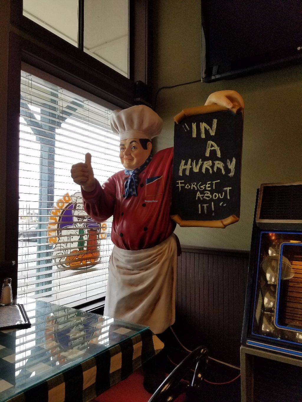 """Photo of Cousin Vinnie's NY Pizza Cafe  by <a href=""""/members/profile/KikoOla"""">KikoOla</a> <br/>Take your time <br/> May 31, 2016  - <a href='/contact/abuse/image/11808/151513'>Report</a>"""