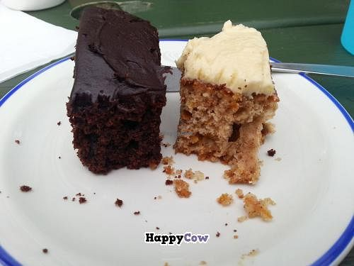 """Photo of Tree-Top Cafe  by <a href=""""/members/profile/Miggi"""">Miggi</a> <br/>chocolate cake and carrot cake <br/> September 8, 2013  - <a href='/contact/abuse/image/11818/54602'>Report</a>"""