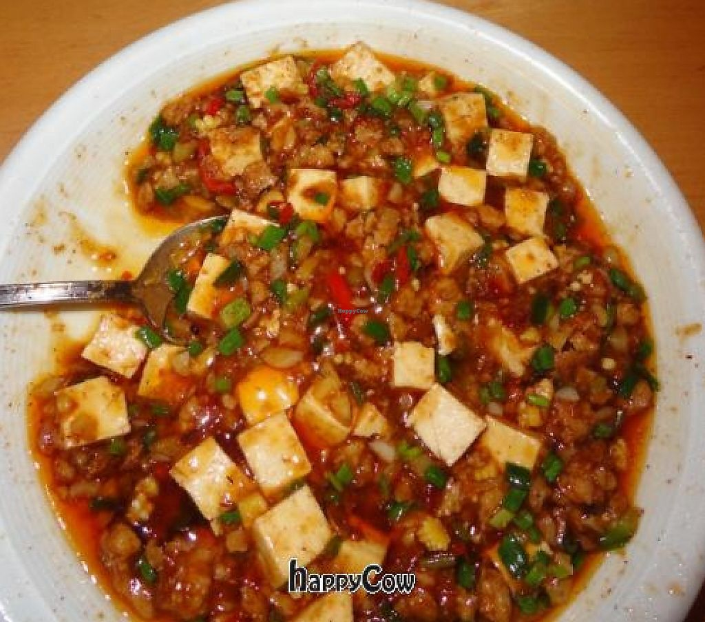 """Photo of Lao Wai  by <a href=""""/members/profile/kasia"""">kasia</a> <br/>Heavenly tofu and mince in a chilli bean sauce <br/> October 16, 2012  - <a href='/contact/abuse/image/1182/246486'>Report</a>"""