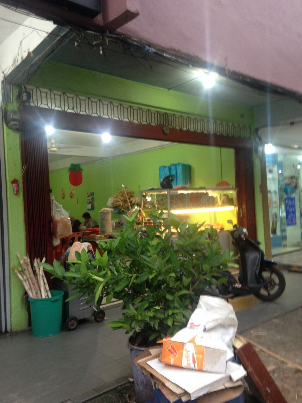 "Photo of Moon Vegetarian  by <a href=""/members/profile/harryang"">harryang</a> <br/>Outside  <br/> January 25, 2018  - <a href='/contact/abuse/image/11833/350783'>Report</a>"