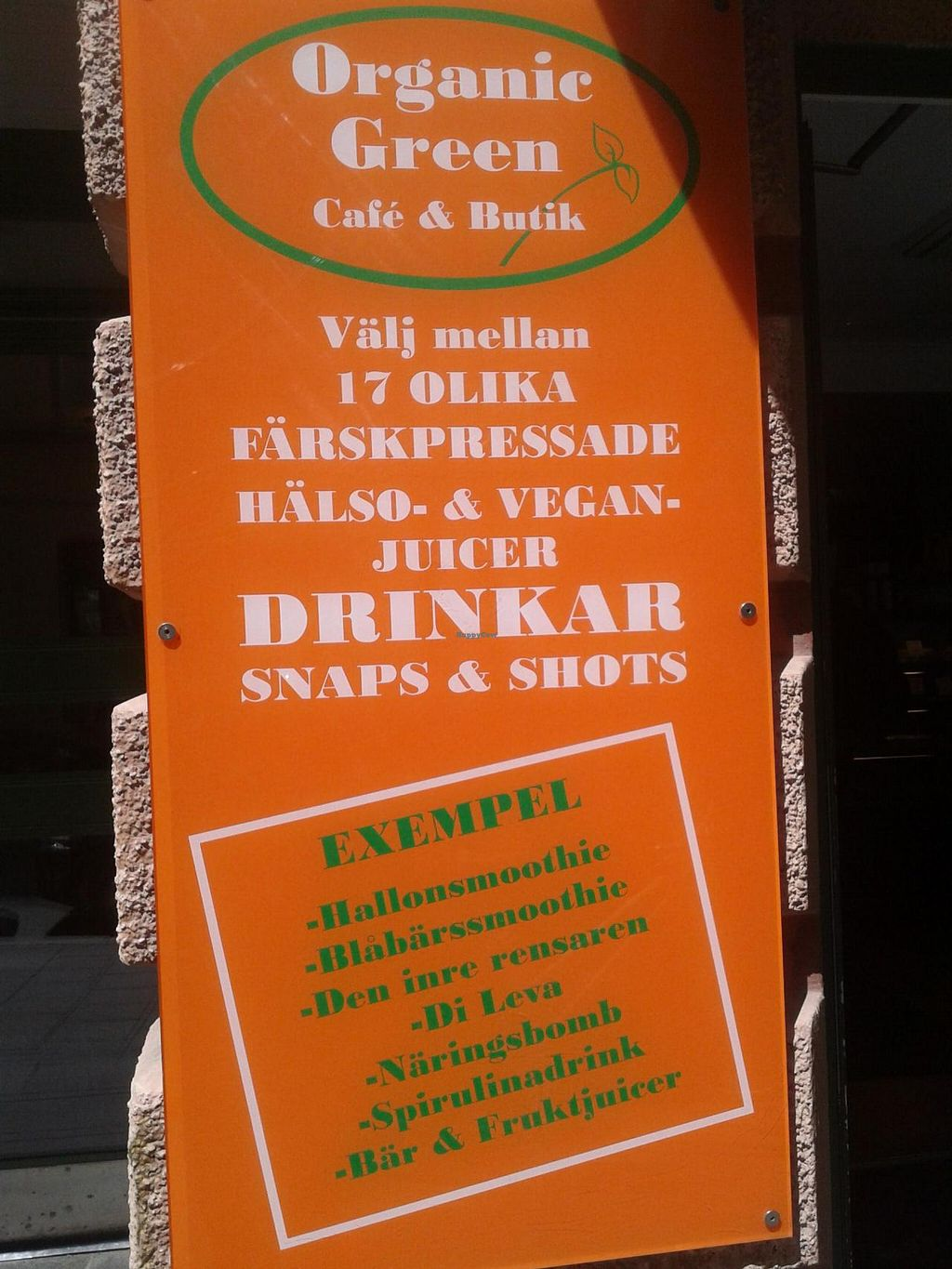 """Photo of Organic Green Butik and Cafe  by <a href=""""/members/profile/miralola"""">miralola</a> <br/>Besides the entry <br/> June 16, 2015  - <a href='/contact/abuse/image/1187/106080'>Report</a>"""