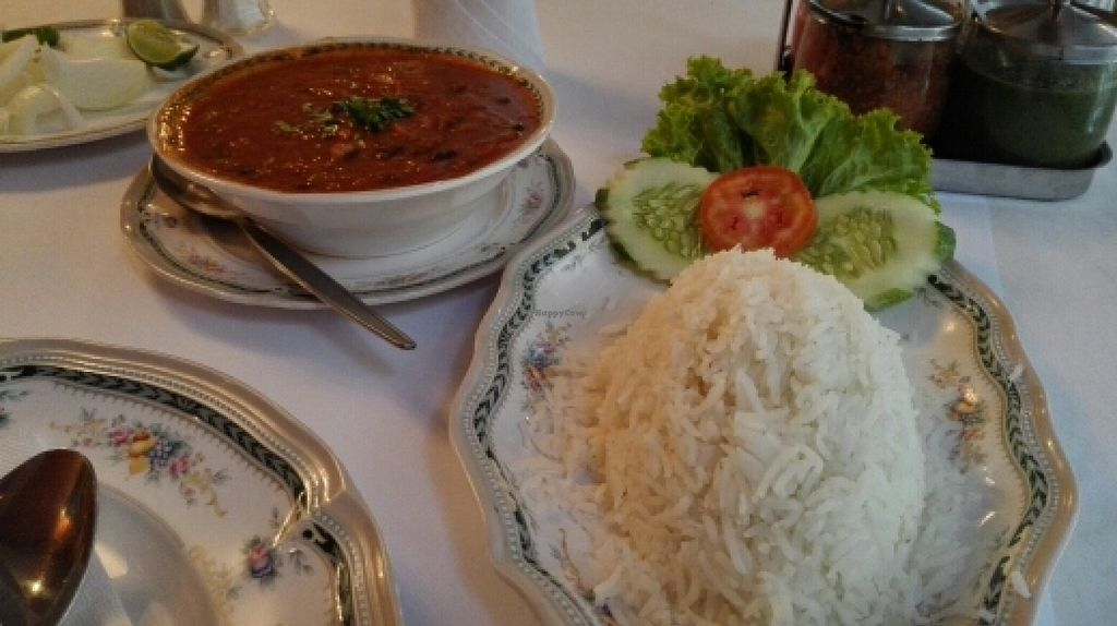 """Photo of Dosa King  by <a href=""""/members/profile/HanniSchmidt"""">HanniSchmidt</a> <br/>basmati rice and kidney beans in a spicy tomato sauce <br/> January 13, 2016  - <a href='/contact/abuse/image/11924/132229'>Report</a>"""