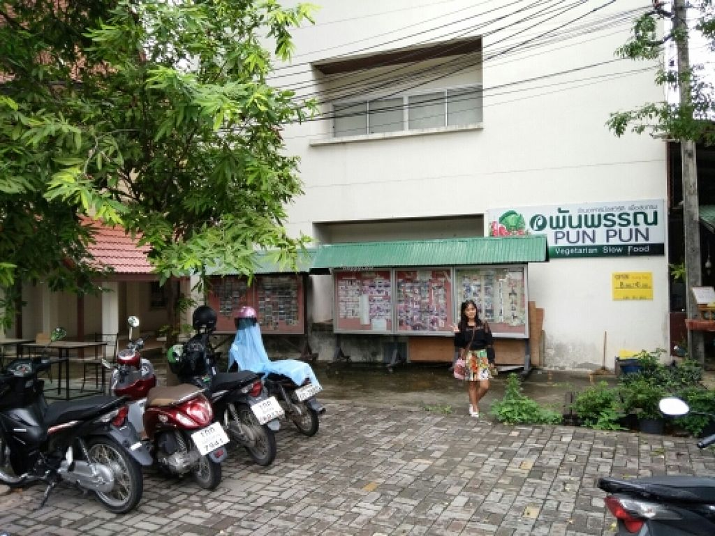 "Photo of Pun Pun Organic Vegetarian Restaurant - Wat Suan Dok  by <a href=""/members/profile/Ianthewander"">Ianthewander</a> <br/>entrance  <br/> July 5, 2016  - <a href='/contact/abuse/image/12006/157868'>Report</a>"