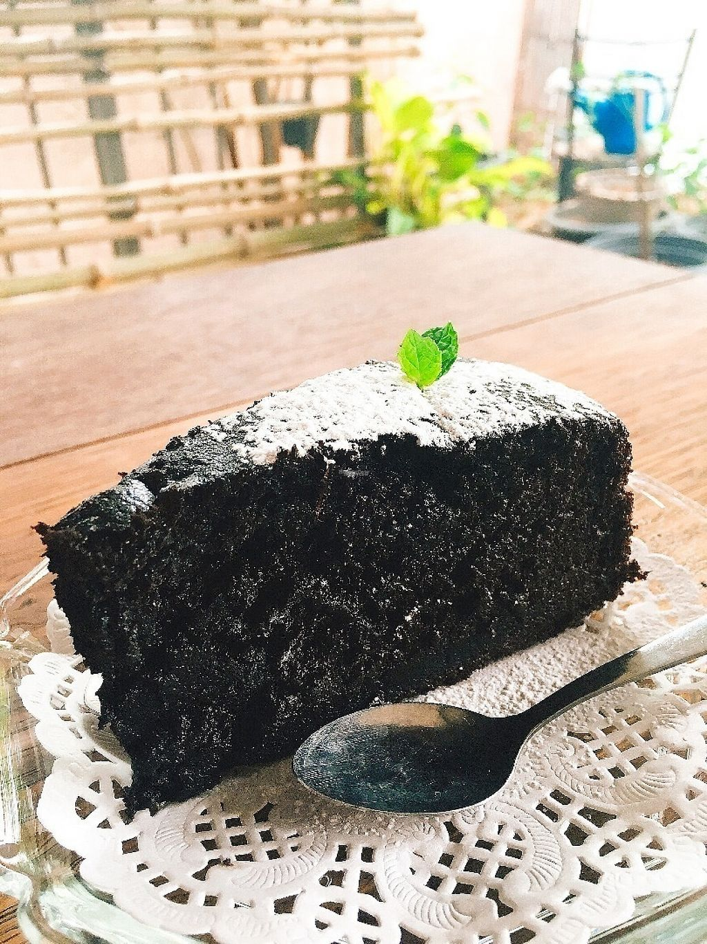 "Photo of Pun Pun Organic Vegetarian Restaurant - Wat Suan Dok  by <a href=""/members/profile/doughnads"">doughnads</a> <br/>Amazing vegan chocolate cake <br/> December 24, 2016  - <a href='/contact/abuse/image/12006/204402'>Report</a>"