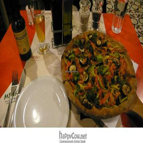 "Photo of Mystic Pizza - Exarchia  by <a href=""/members/profile/vegantr"">vegantr</a> <br/> March 1, 2011  - <a href='/contact/abuse/image/12015/7689'>Report</a>"