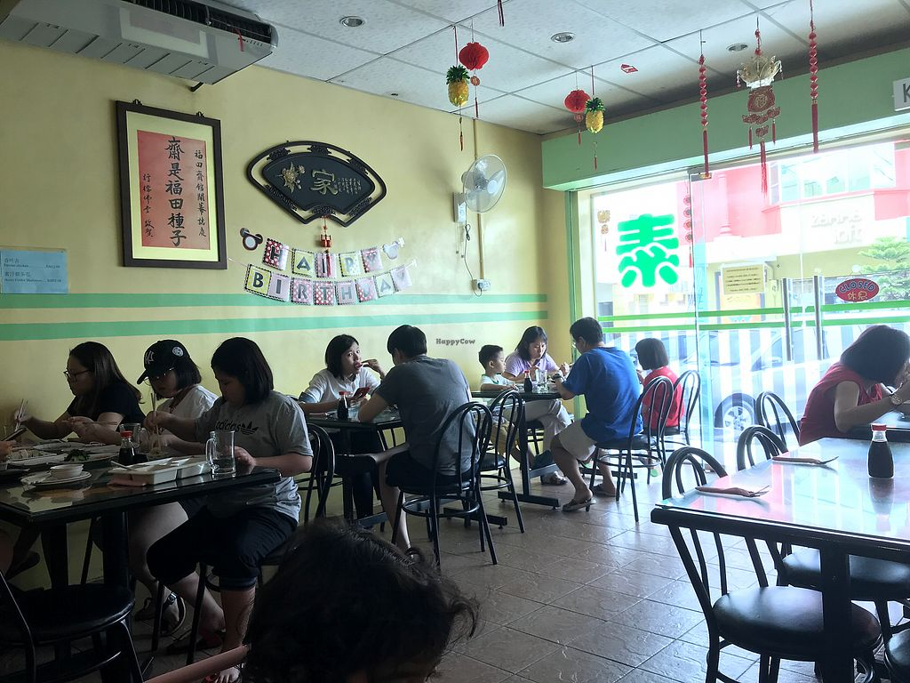 """Photo of Xin Fu Tien Vegetarian Restaurant  by <a href=""""/members/profile/neilmadhvani"""">neilmadhvani</a> <br/>Inside the restaurant <br/> December 27, 2017  - <a href='/contact/abuse/image/12028/339661'>Report</a>"""
